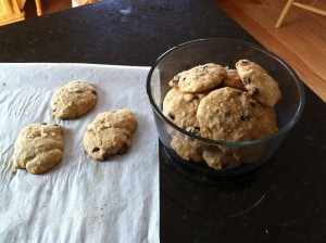 My Delicious Paleo Chocolate Chip Cookies