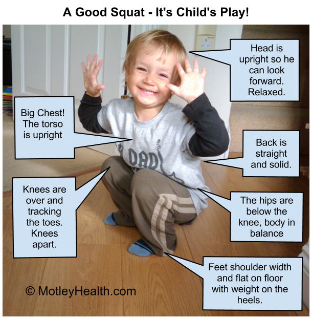 beginner squat
