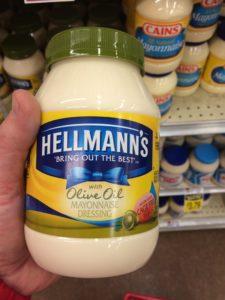 not real mayo