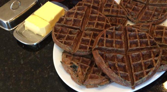 Post Workout, Gluten Free Waffles